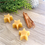 Christmas Stars - Cinnamon & Lemon Myrtle - Beeswax Melts