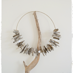 60cm Driftwood Wreath Tribal Necklace Beach Bohemian Rustic Boho Home Decor