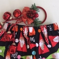 Sizes 3, 4, 5 & 6 - Ho! Ho! Santas Christmas Shorts