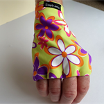 Glove: sun protective, fingerless, lycra, sunglove,  sun protection clothing
