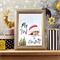 Baby's First Christmas Photo Art Keepsake Gift