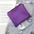 Mid zipper bag, travel bag, accessories bag, purse, makeup bag