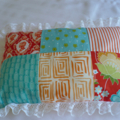 Doll Quilt and Pillow - Teacups