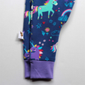 Girls Rainbows and unicorns knit harem pants, leggings