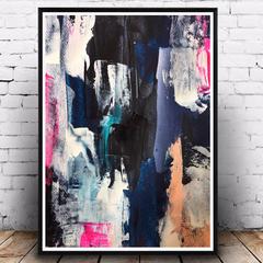 Tuesday - Abstract Art Print
