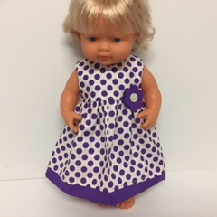 Dolls Dress to Fit Miniland Doll