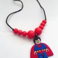 Washable Kids Jewellery - Superman