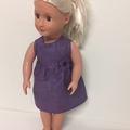 Dolls Dress to Fit Our Generation and American Girl Dolls