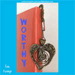 WORTHY - bookmark