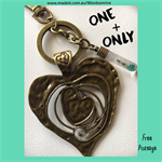 ONE + ONLY - keyring or bagcharm