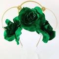 FRIDA Crown,Tiara, Leaf Halo, Gold Leaf Headpiece, Hair Accessory, bridal tiara,