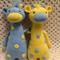 Giraffe, READY TO POST, Crochet Toy, Boy Twins Gift