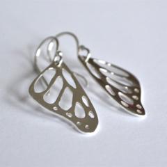 Butterfly Wing Earrings. Butterfly Earrings. Monarch Butterfly Earrings.