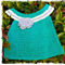 Handmade Crochet Dress for a Newborn Baby....