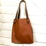 leather bag, large tote, repurposed leather, handbag, handmade bag