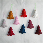 9 Felted Christmas Decorations