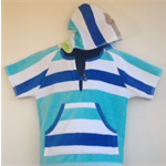 Size 4 Boys Beach Towel Shirt/Pool Cover up