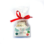 Pamper xmas gift pack with hand cream, soap and lip balm.