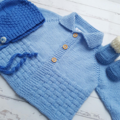 Little Cardigan - Size 0 - 100% Australian Merino Wool
