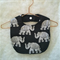 Adorable Unisex Baby Feeding Bib/Bohemian Elephants
