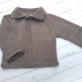 Little Cardigan - Size 0 - 100% Australian Merino Wool