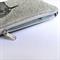 Screen printed robin pouch / clutch / purse / wallet