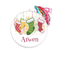 Personalised Christmas decorations Christmas stocking