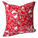 Christmas Birds Cushion Cover, Pillow Cover, Christmas Gift, Mix & Match Cushion