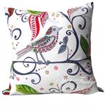 Christmas Bird Cushion Cover, Pillow Cover, Christmas Gift, Mix & Match Cushions