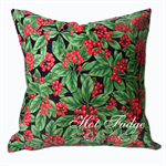 Christmas Berries Cushion Cover, free shipping