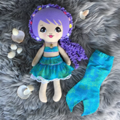 OOAK Nixie the Mermaid Doll