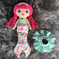 OOAK Venus the Mermaid Doll