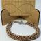 Netted Pearls Beaded Bracelet