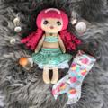 OOAK Venus the Mermaid Doll