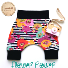 Funky flower 🌺  Shorties, Shorts, Harempants style toddler & baby