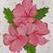 Hibiscus Bloom - Original Watercolour Painting
