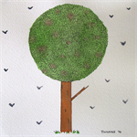 Tree - Original Watercolour Painting