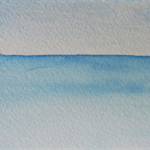 Sea View - Original Watercolour Painting