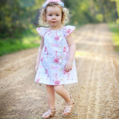 Magical Unicorn dress babies toddler