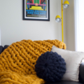 Chunky knit Bed Runner