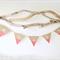 5 Letter Personalised Name Bunting Boho Baby Shower Nursery Custom Wooden Beads