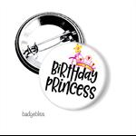 Birthday Princess badge
