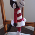 Molly - Hand crocheted monkey by CuddleCorner : OOAK, Washable, safe