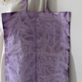 100% Organic Cotton Tote Bag Purple