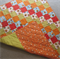 Patchwork Quilt - Oranges and Greens - Gift