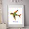 Lego Plane Personalised Wall Art Print, 8x10