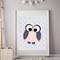 8x10 Girls Owl Wall Art Print
