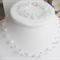 Swarovski crystal 'floating' necklace and bracelet set