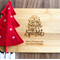 """Personalised """"The Most Wonderful Time of the Year"""" Mini Board"""