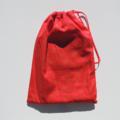 Santa sack. Christmas stocking. Large sack.